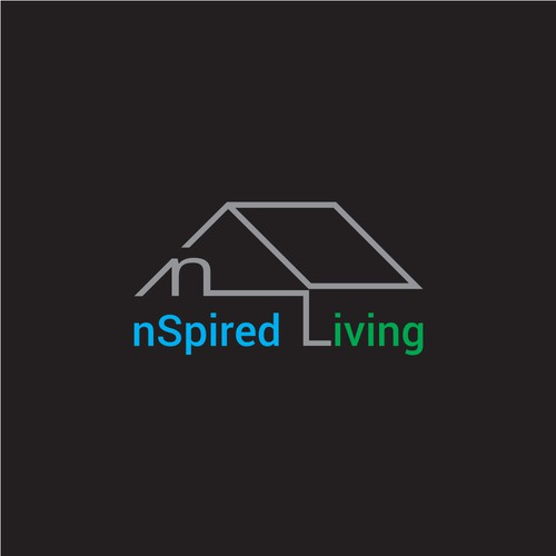 Modern logo concept for real estate business.