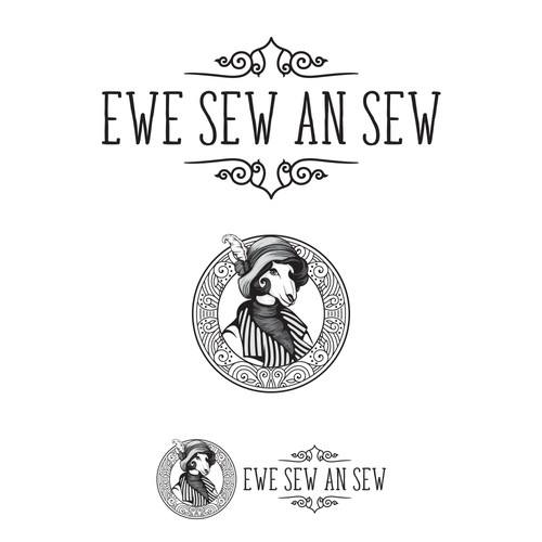Ewe Sew An Sew Logo