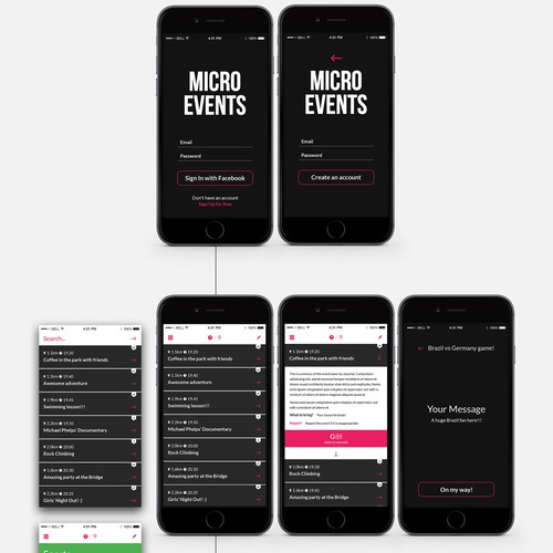 "App for spontaneous ""micro-events"""