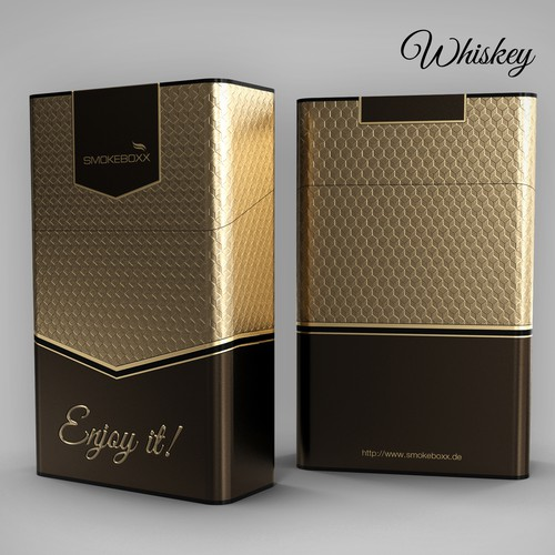 Cool alloy box for cigarettes
