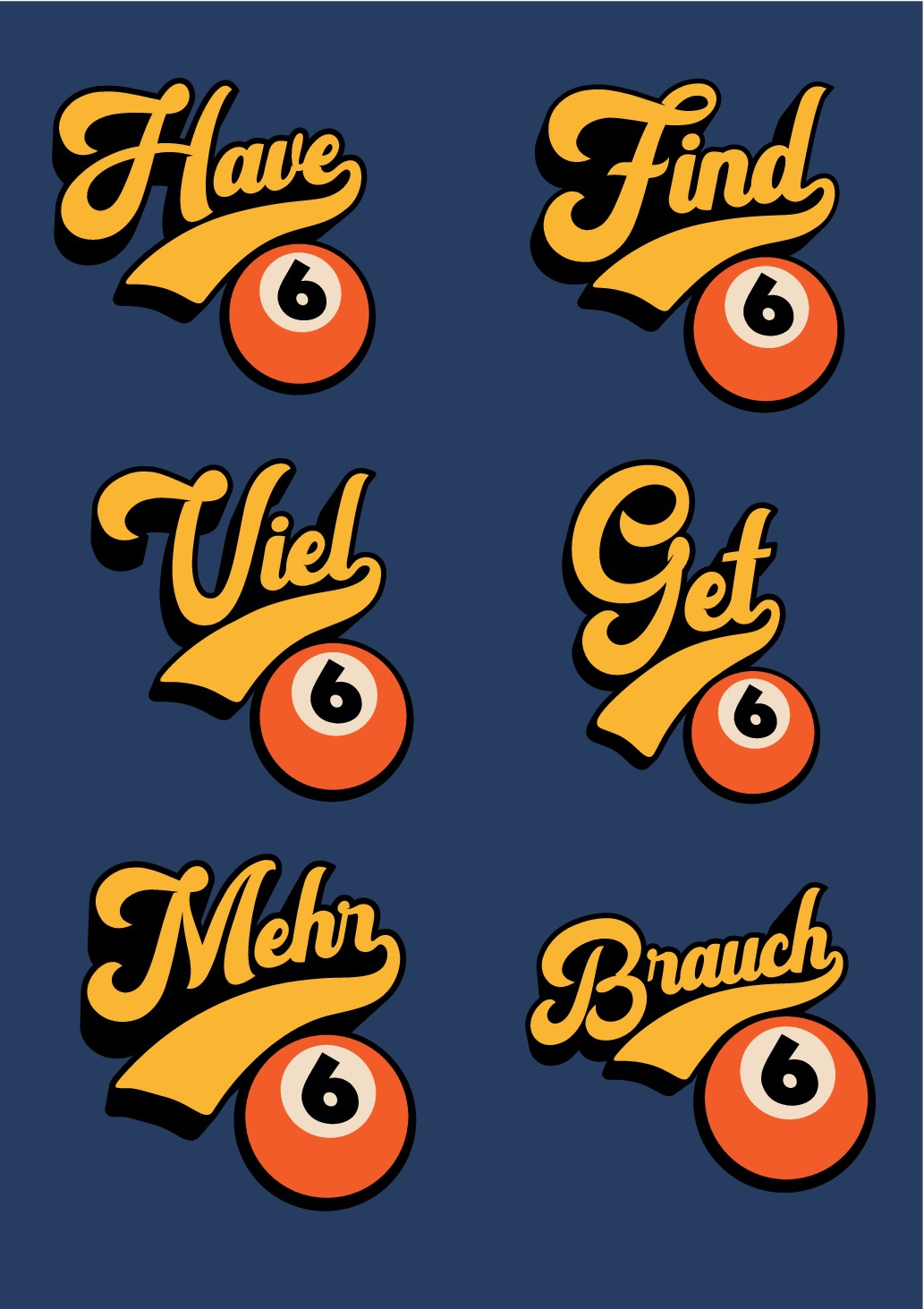 Brauch6: T-shirt for a new label - Brauch6