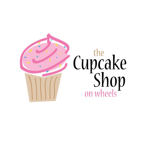 Please help me design a fun modern logo -CUPCAKES