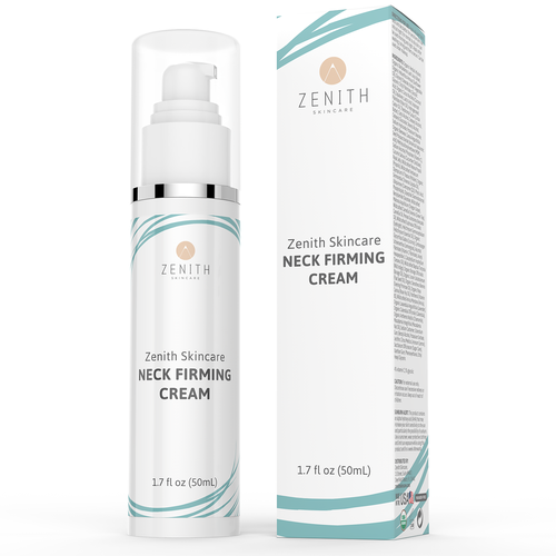 Product label and box for Zenith Skincare