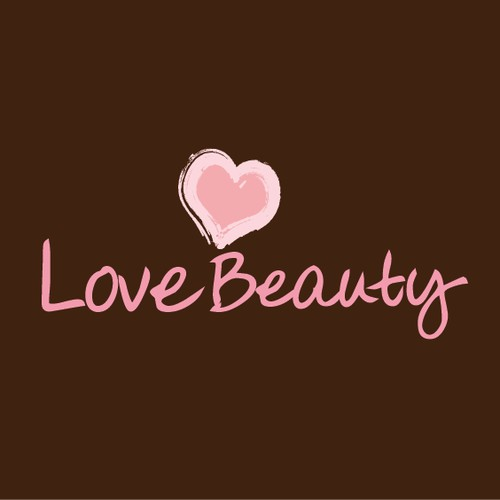 Love Beauty needs an attractive almost seductive logo