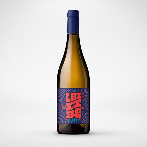 Let It Be Wine Label