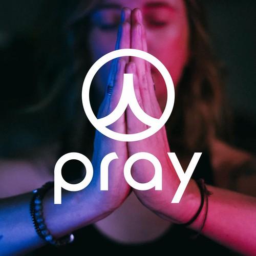 Logo concept for pray studio