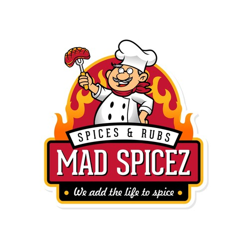 Logo for new Spice Company - Pacific NW flavor