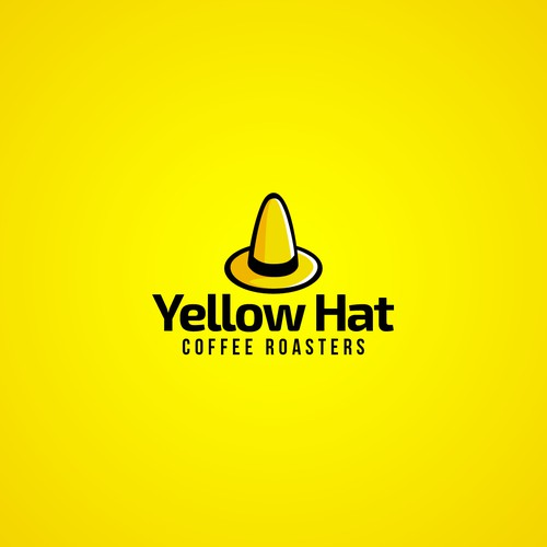 Simple 3D Yellow Hat