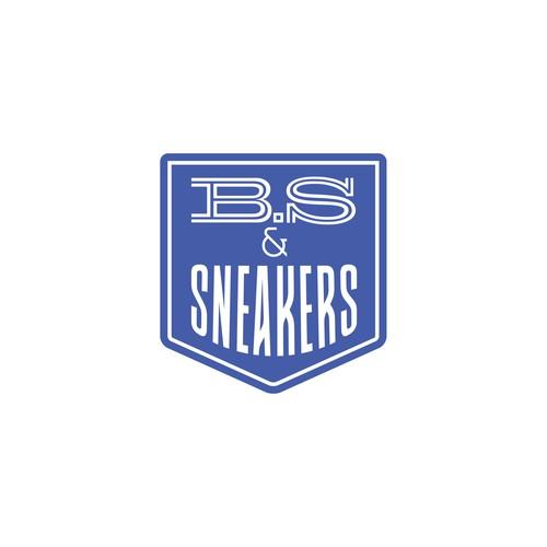 Recycled sneaker brand logo