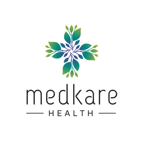 Creative logo for MedKare Health