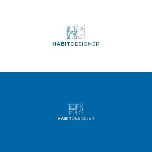 HabitDesigner logo concept