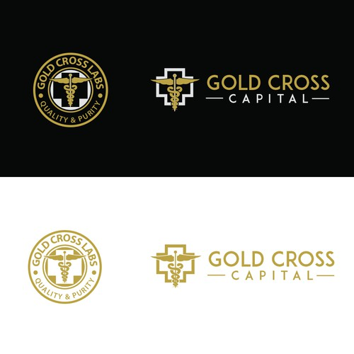 "Winning design for ""Gold Cross Capital"""