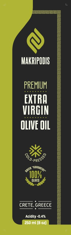 Luxury Extra Virgin Olive Oil Product Label needed
