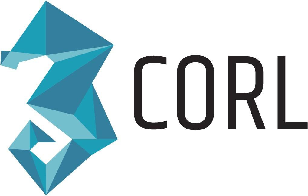 Design a modern logo for a Corl a FinTech company