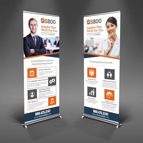 S800 stand banner