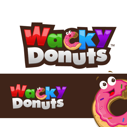 Wacky Donuts needs a new logo