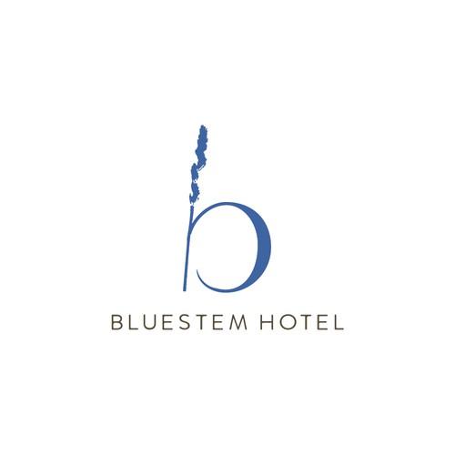 Logo Design for Bluestem Hotel