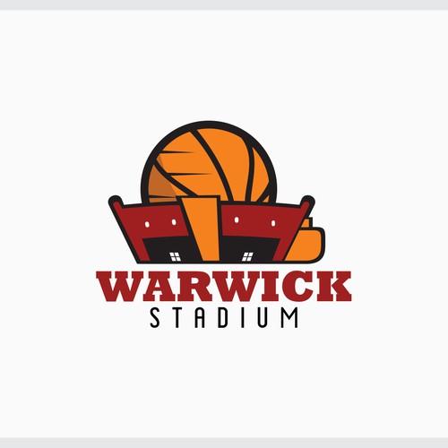 Create innovative Basketball Stadium logo