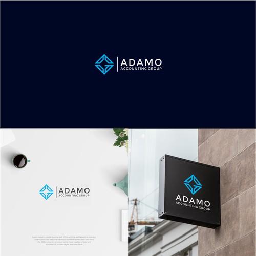 Logo Concept For Adamo Accounting Group