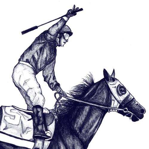Create a cool t-shirt for Kentucky Derby winner California Chrome