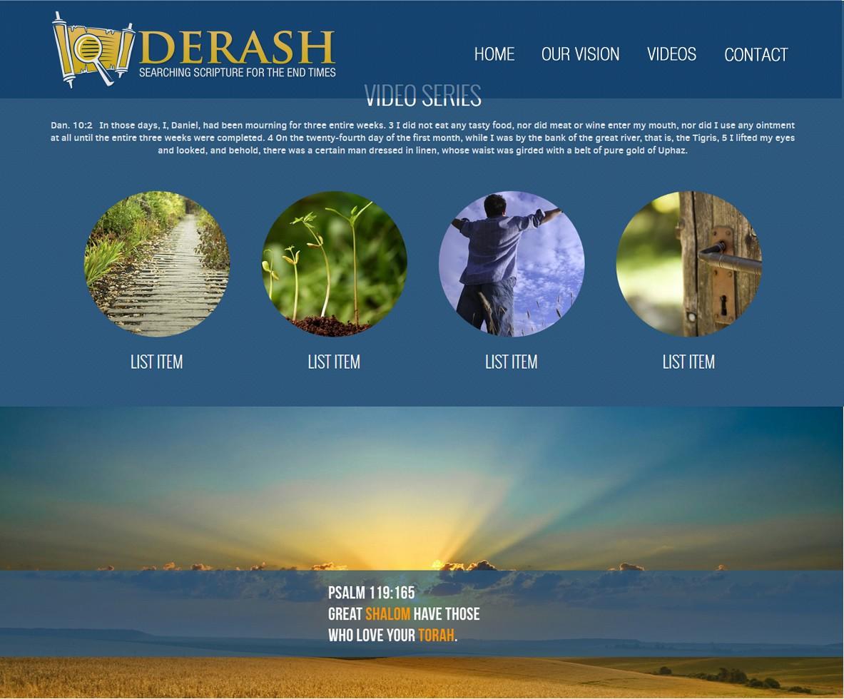A visual identity for Derash.