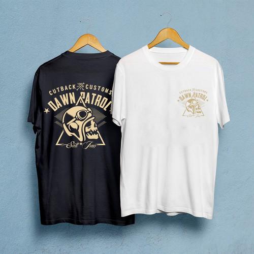 CutBack Customs T-shirt design