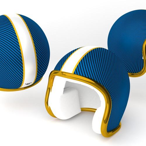 Bicycle helmet design