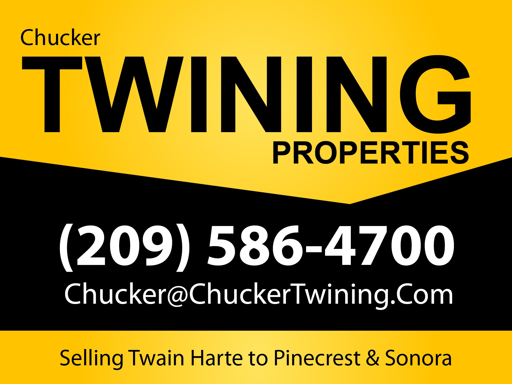 Create the next signage for Twining Properties