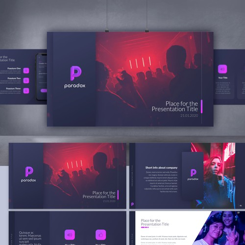 Paradox PowerPoint template