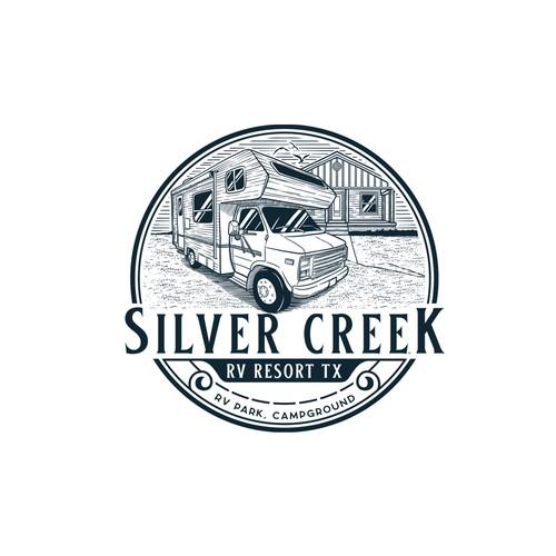 Logo for Silver Creek RV Resort TX