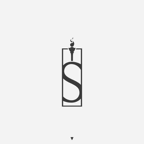 Minimalistic logo.