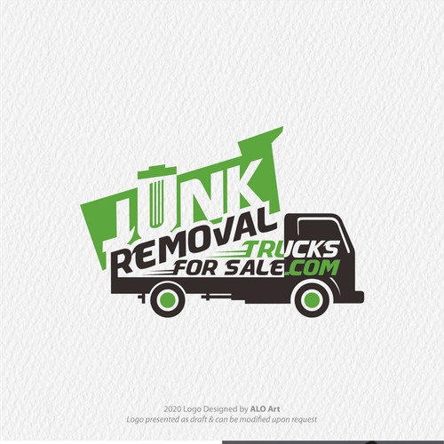 Logo For Junk Removal Truk