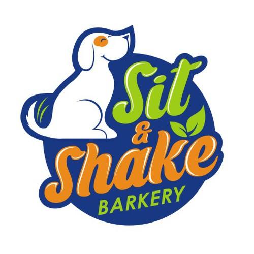 Barkery Sit & Shake Logo