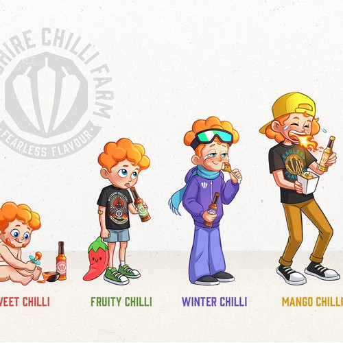 The evolution of a hot sauce addict