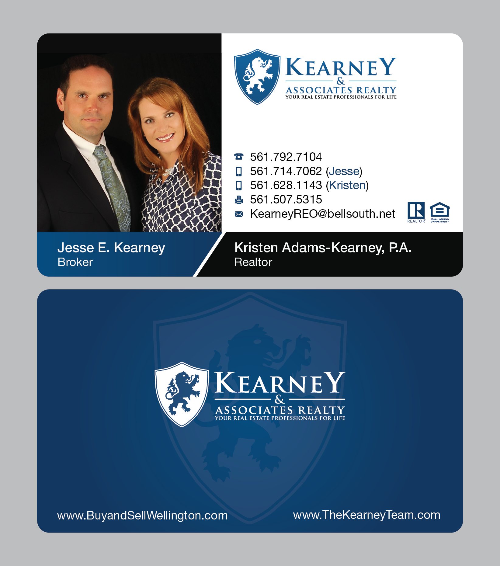 Kearney & Associates Business Cards
