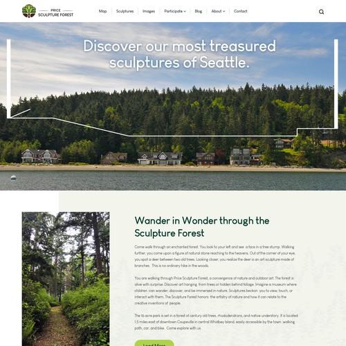 Design For a New Sculpture Park