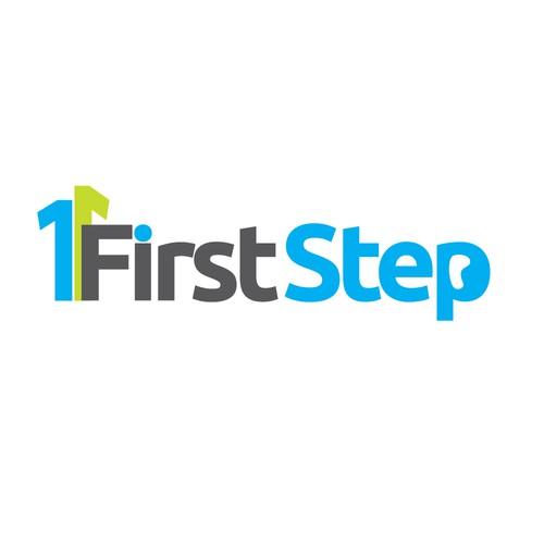First Step logo consept