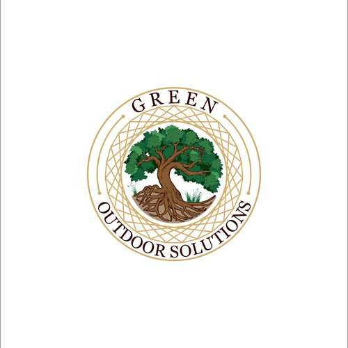 Logo for Green Outdoor Solutions