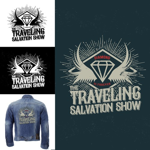 Logo design for The Traveling Salvation Show