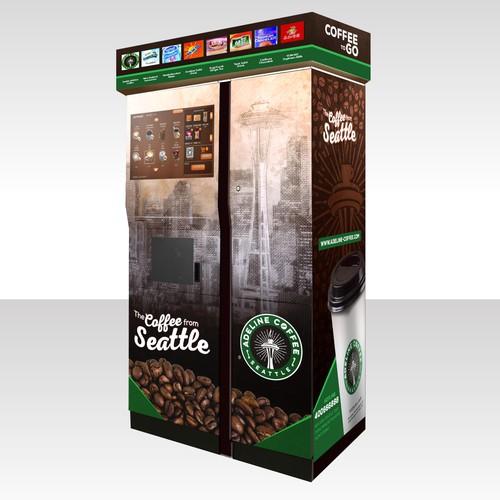 Coffee Machine Wrap Design