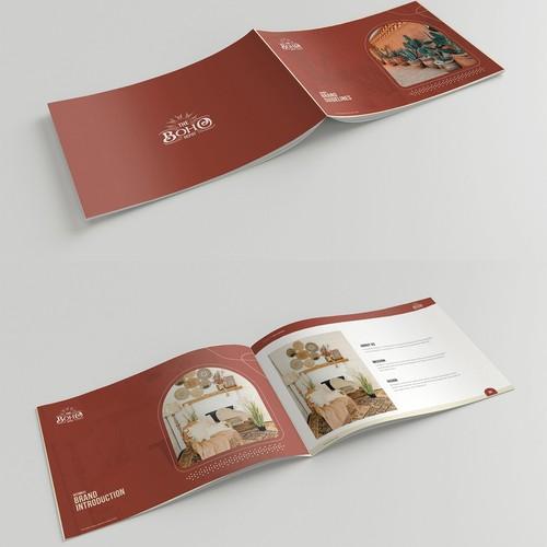 波希米亚风格的商店品牌指南