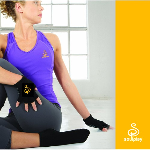 Create a Powerful & Playful Logo for Yoga Products: Soul Play
