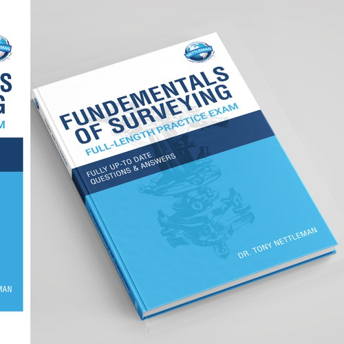 """Fundementals of Surveying"" - Engineering Prep Book Cover"
