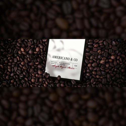 AMERICANO & CO   Coffee Brand