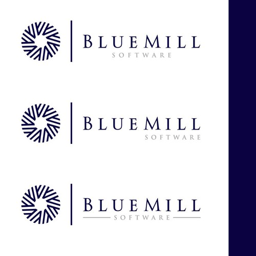 Help Blue Mill (Blue Mill Group, Blue Mill Networks, Blue Mill IT, Blue Mill Software) with a new logo family