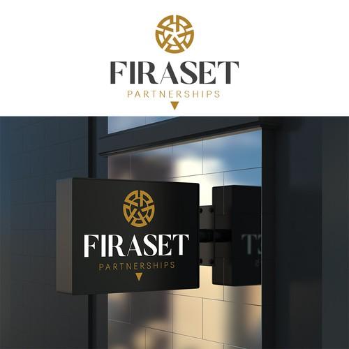 Logo design for FIRASET PARTNERSHIPS.