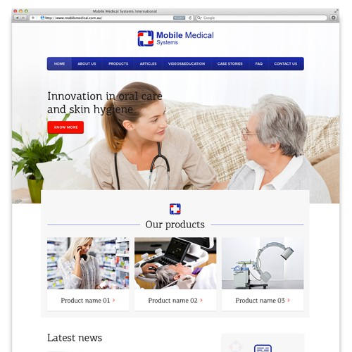 New website for Australian medical supplier
