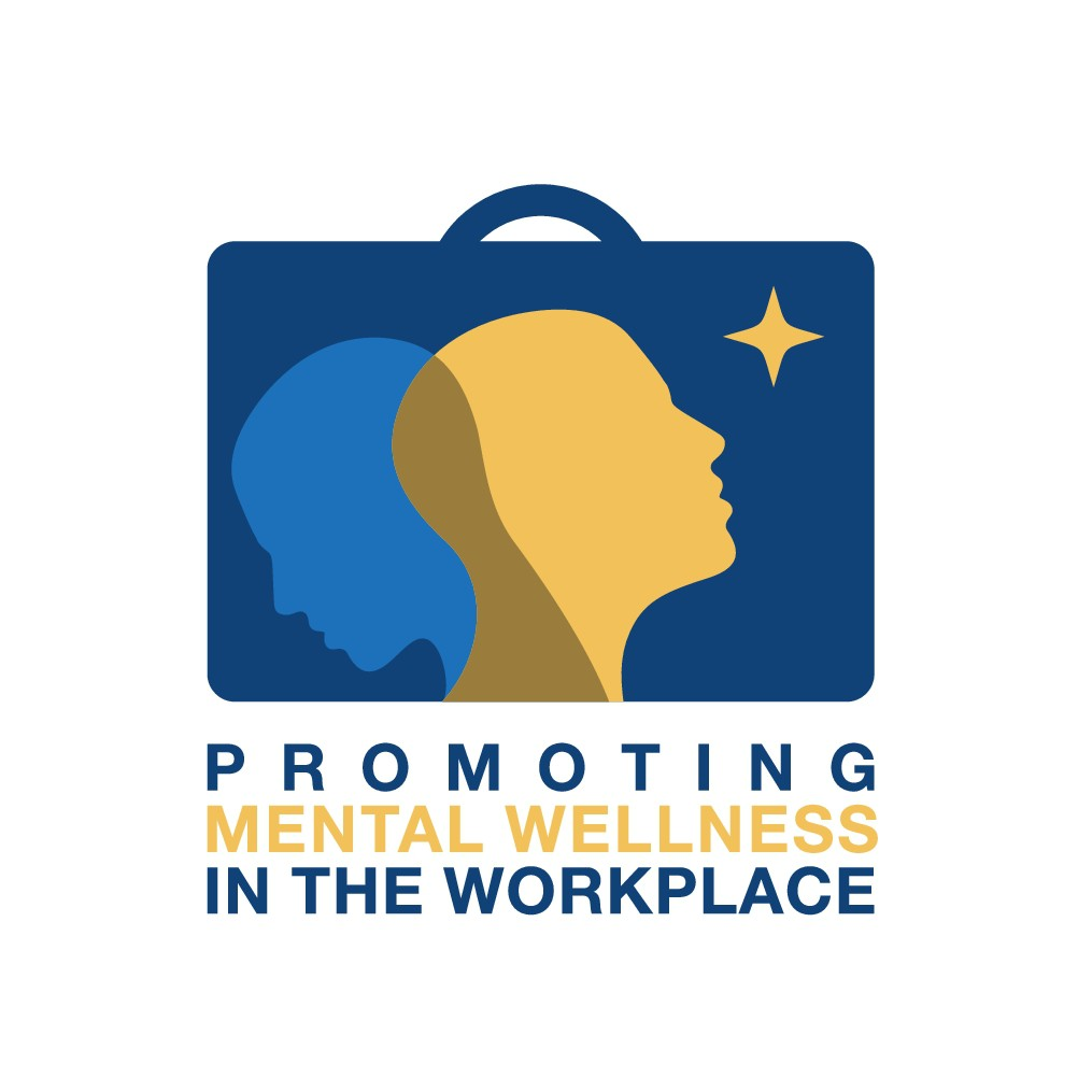 """""""Enabling Mental Wellness in the Workplace"""" needs an eye-catching logo."""