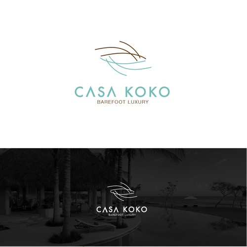 Sophisticated logo for a Luxury Villa in the Mexican Riviera