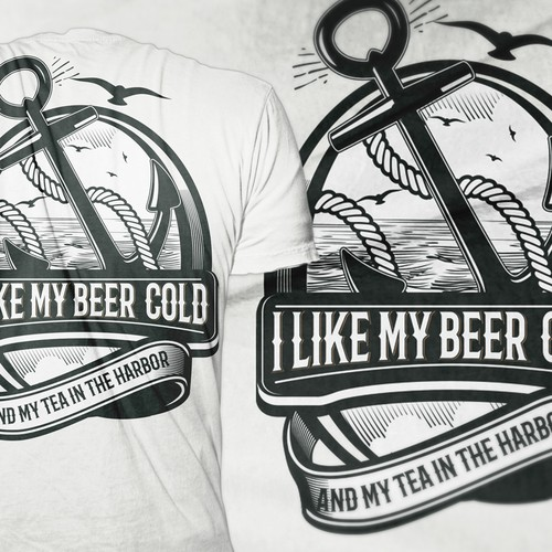 All Liberty Brewing T-shirt Design